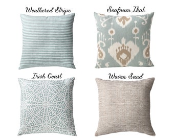 seafoam collection pillow covers 20x20 20x20 pillow cover throw pillow covers 20x20