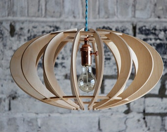 Ellipse Slice Pendant: Elegant lighting in a kit of parts