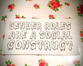 Gender Roles are a Social Construct Spooky Patch