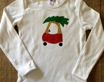 Christmas Coupe T-shirt