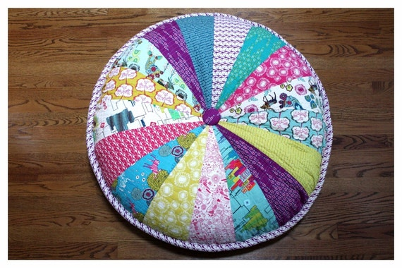 Floor Pillows With Washable Covers : Washable 40 Enormous Pouf Giant Floor Cushion by ScrumptiousNSassy