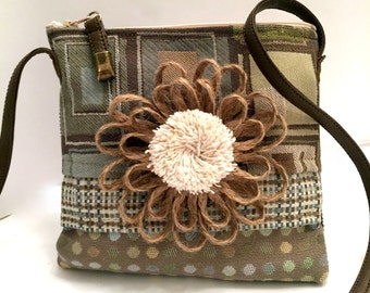 Small over-the-shoulder purse