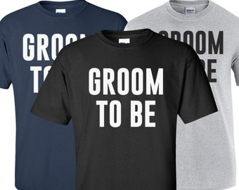 Groom T-Shirt / Groom to be Shirt / Groom Shirt / Tee Wedding Shirt / Tee Shirt / 250