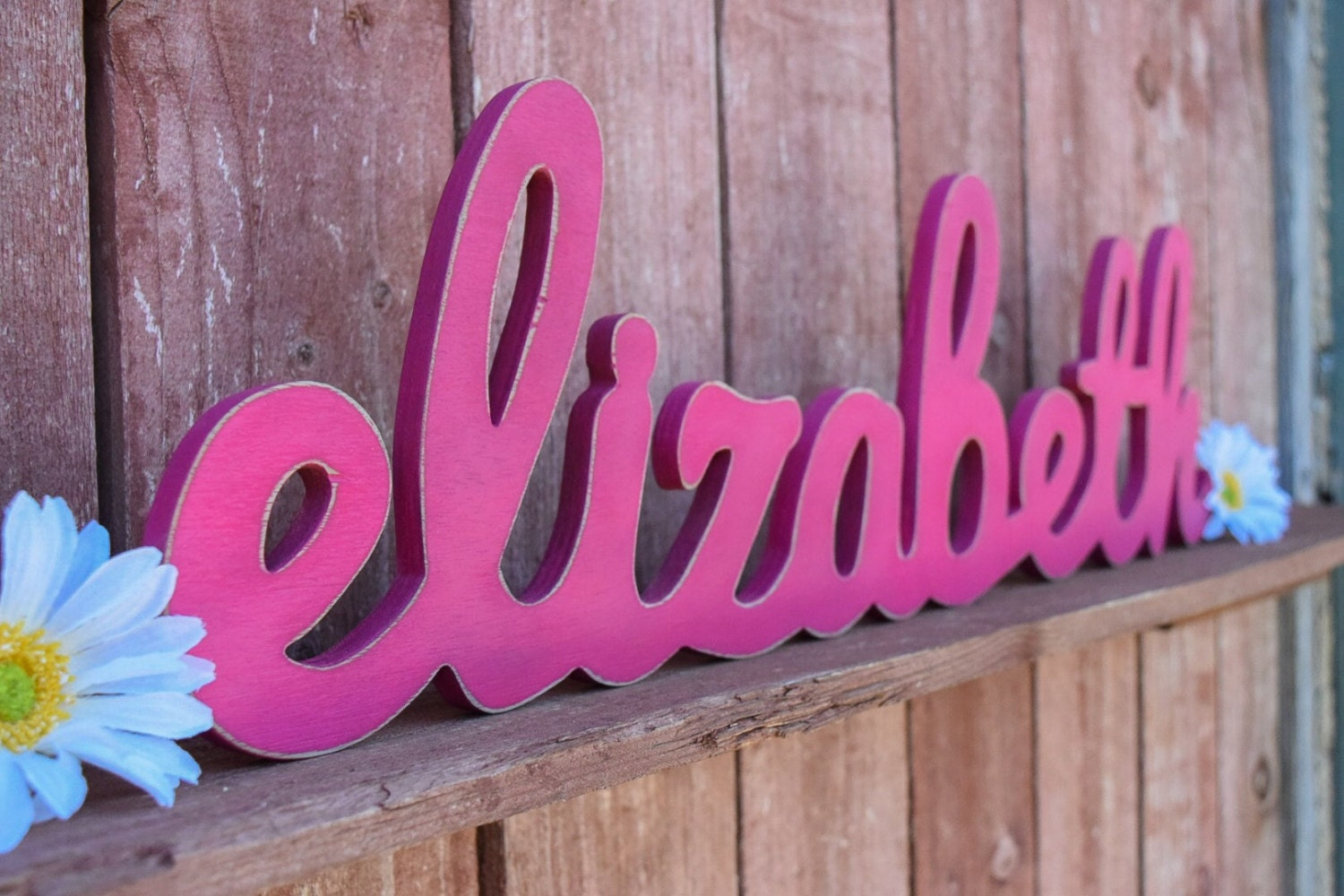 Standing Letters Home Decor