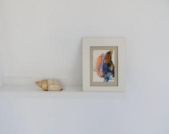 STILL LIFE - Cyprus acrylic original painting - Wall hanging Original color painting - wall decor original acrylic painting - kitchen art