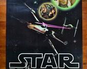 Vintage 1977 Star Wars Movie Poster