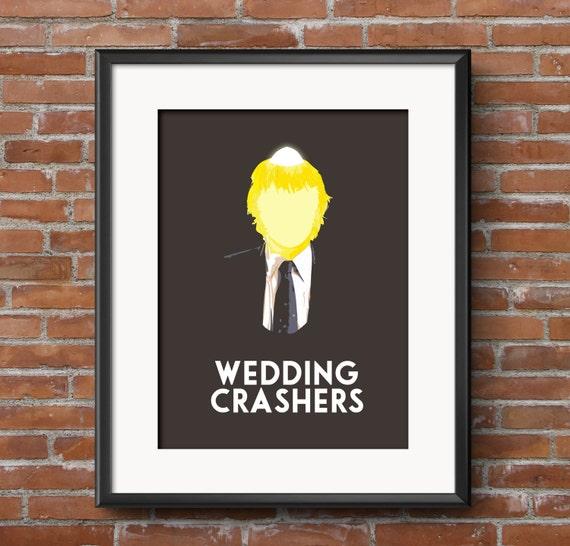 Wedding Crashers Minimalist Movie Poster 20x30 20x24 16x20