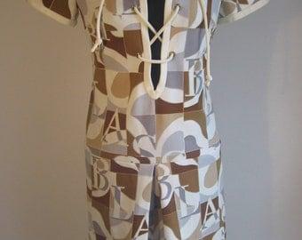 60s Op Art vtg handmade professionally and signed