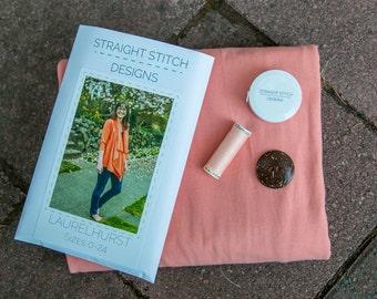 Laurelhurst Stitch Kit - Sewing Kits by Straight Stitch Designs