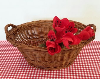Small Wicker Laundry Basket