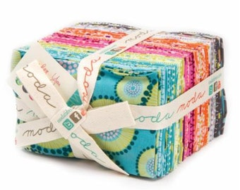 For You fabric line by Zen Chic for Moda Fabric fat eighths bundle