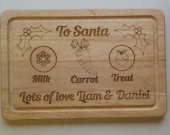 Santa's treat christmas eve board