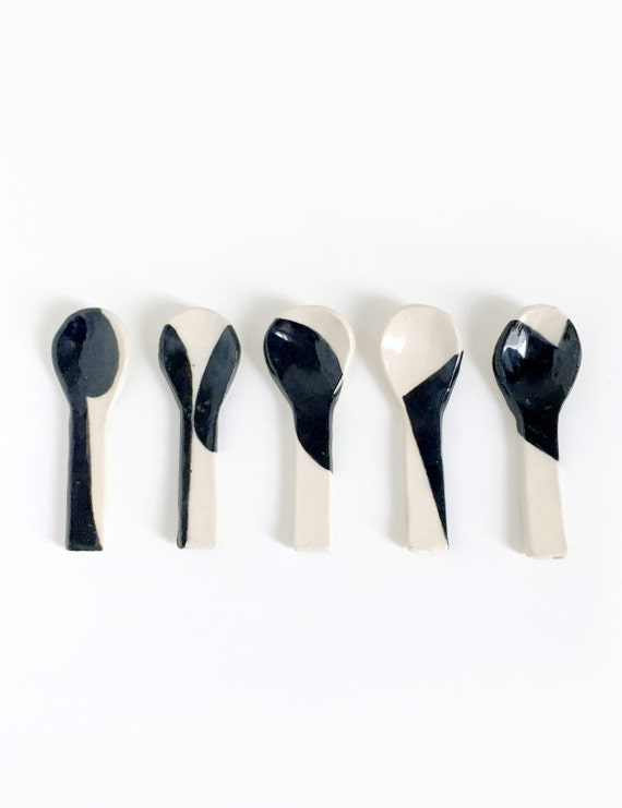 Black and White Spoon 1