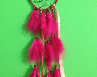 Dark Pink Dreamcatcher