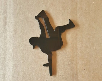 Break Dancer cake topper breakdancer Birthday Cake Topper boys birthday dancing hip hop decorations breakdancer cake topper son party decor
