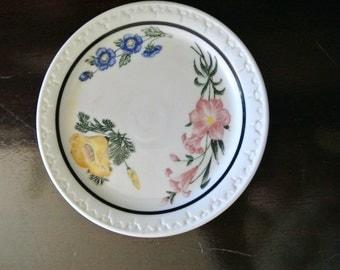 Prairie-Mountain Wildflowers China Suacer- 1940s