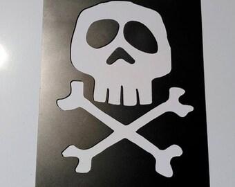 Harlock logo laser cut in steel