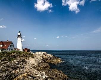 PORTLAND HEAD LIGHT cape elizabeth maine lighthouse