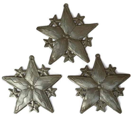 Star Ornaments (set of 3)