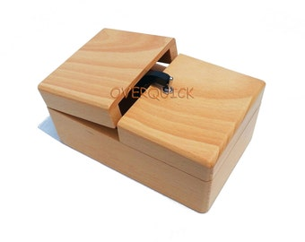 Solid Wood Useless Box Useless Machine