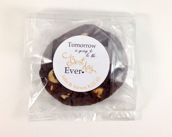 12 Tomorrow Is Going To Be The Best Day Ever Stickers, Labels, Wedding Rehearsal Stickers, Rehearsal Dinner Label, Wedding Favors, Rehearsal