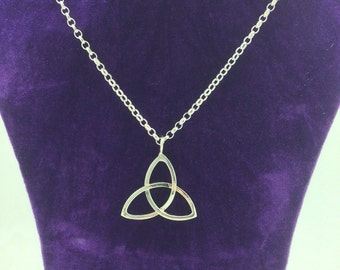 Sterling Silver Celtic Triangle, Hallmarked.