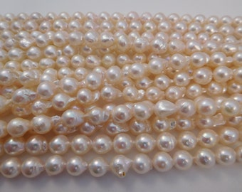 6-7mm Semi-Round/Baroque Akoya Pearl Necklace