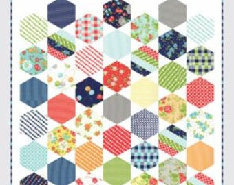 Juggle Quilt Pattern by Camille Roskelley of Thimble Blossoms
