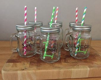 Personalised drinking jar!