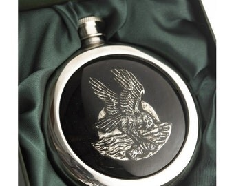 Eagle Whiskey Flask