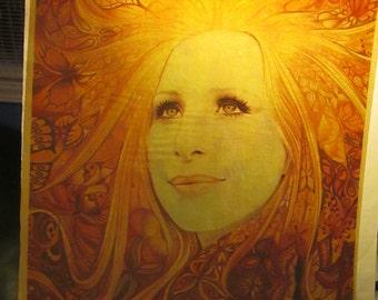 Barbara Streisand iron on decal