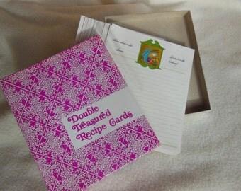 70's Recipe Cards