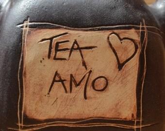 Ceramic Teapot for lovers or not... - teapot