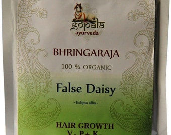 Bhringraj Powder (USDA Certified Organic) - Gopala Ayurveda