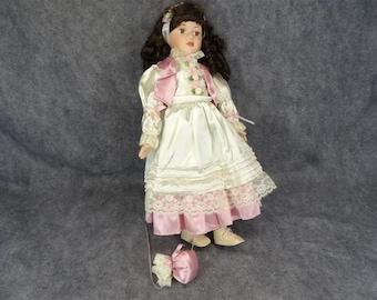 Vintage Le Cheri Procelain Doll Limited Edition