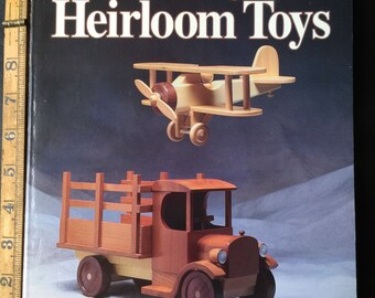 RARE Making Heirloom Toys by Jim Makowicki, 1998 Paperback