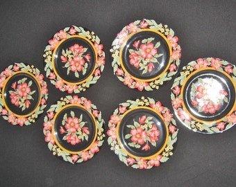 Vintage dessert plates FRENCH-ARCOROC