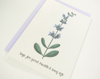 Sage for Good Health and Long Life