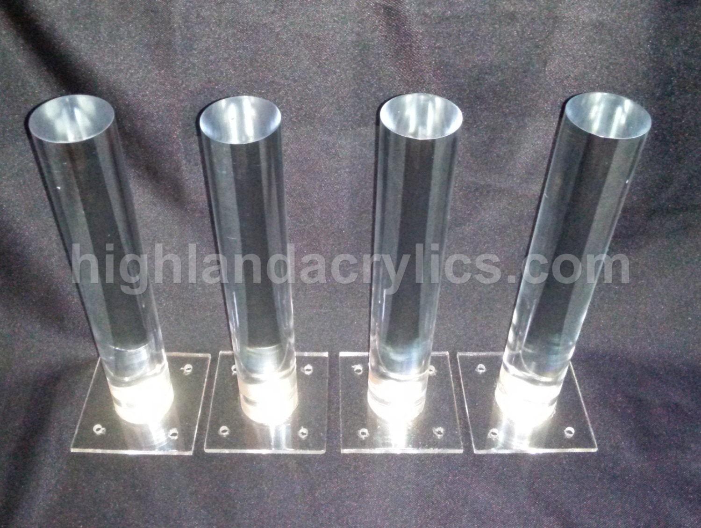 Clear Acryic Legs Lucite Acrylic Furniture By Highlandacrylics