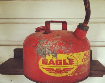 Vintage Eagle Gas Can