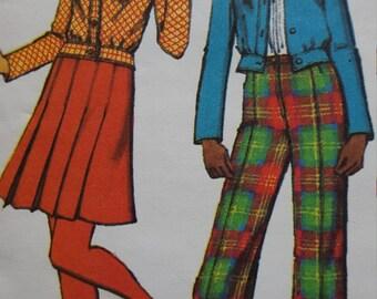 Vintage Simplicity uncut juniors mix and match pattern