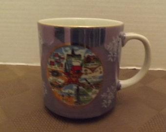 Texas Souvenir Snowflake Coffee Mug - Unmarked