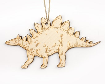 Stegosaurus Christmas Ornament