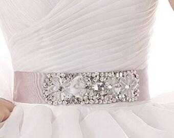Wedding Belt, Bridal Belt, Wedding Sash, Bridal Sash, Crystal belt, Crystal sash, Bridesmaid Belt