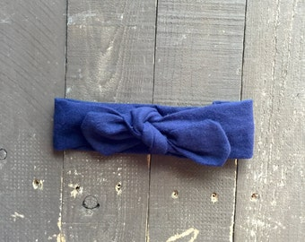 Midnight Knotted Headband