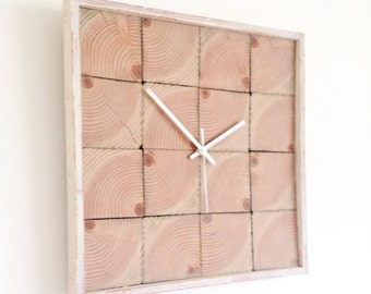 Recycled Wood Clock