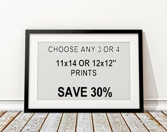 Save 30% on any three or four 11x14'' or 12x12'' Fine Art Prints, Chicago Photography,Nature Art,Chicago Skyline, Chicago Art Sale, Wall Art