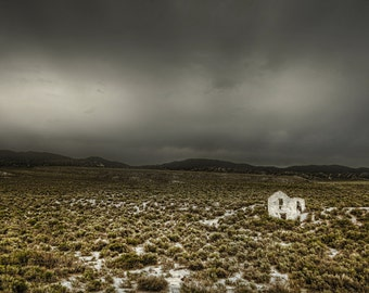 Palmetto, Nevada, Ghost Town, Desert, Storm, Abandoned, Las Vegas, Erie, Haunted, Dark, Gothic