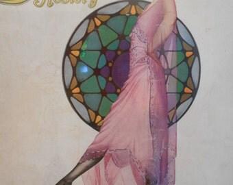 1920's Flapper Era Luxite Stocking/Nylon/Hosiery Ad