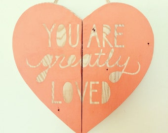 You are greatly loved